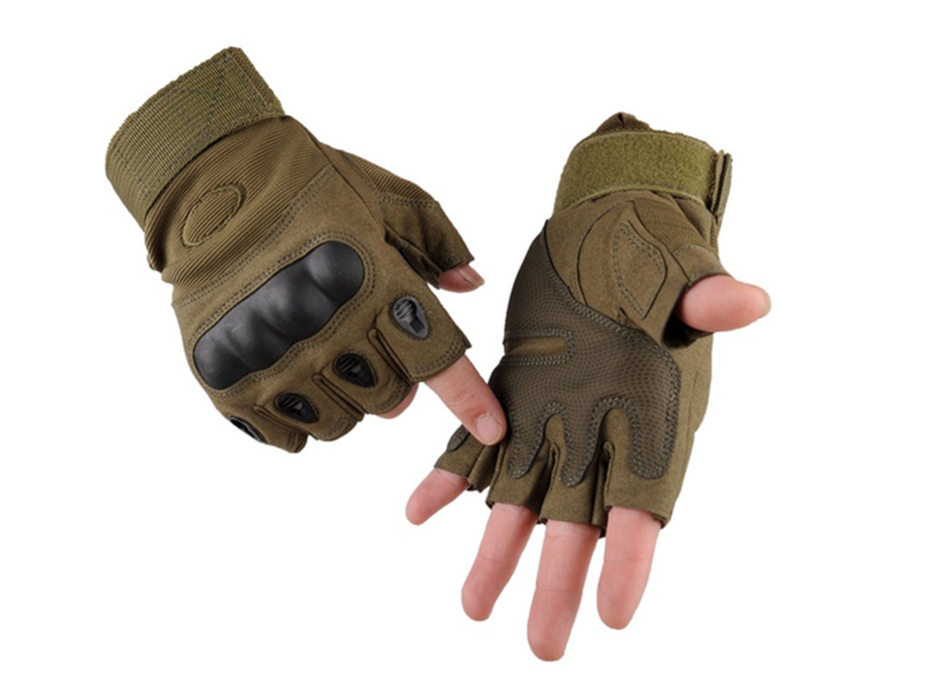 Bien débuter l'airsoft - les gants
